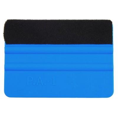 A02 Espátula Azul fieltro negro