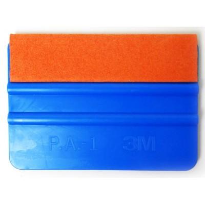 A02S Espátula Azul fieltro naranja