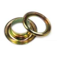Ollaos Metal Dorado 14 mm.